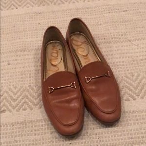 Leather sam Edelman loafers size 7.5